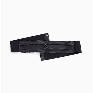 Nwt Torrid Black Twist Loop Waist Belt